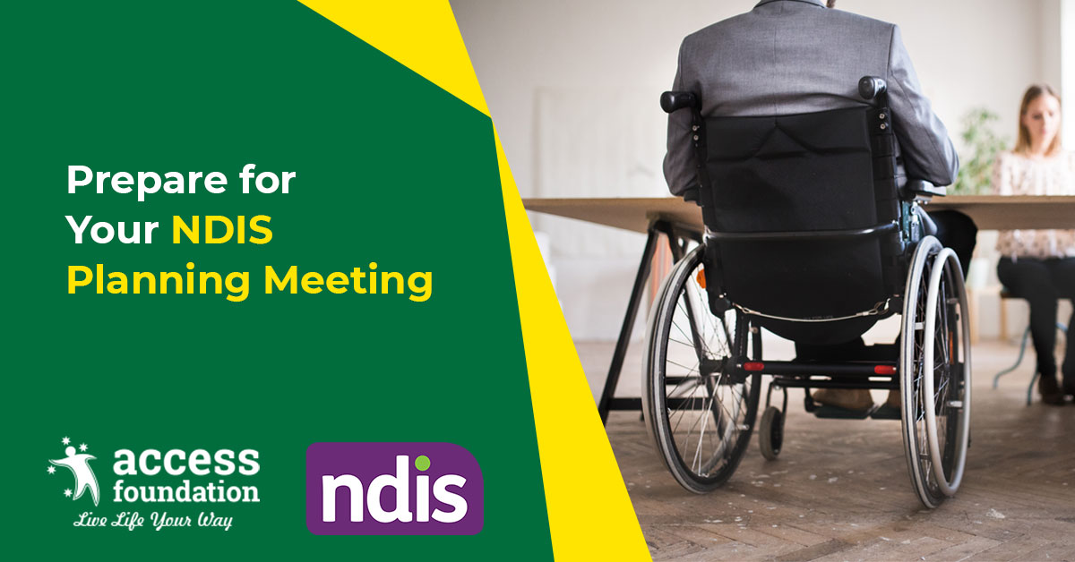 Prepare your NDIS Planning Meeting