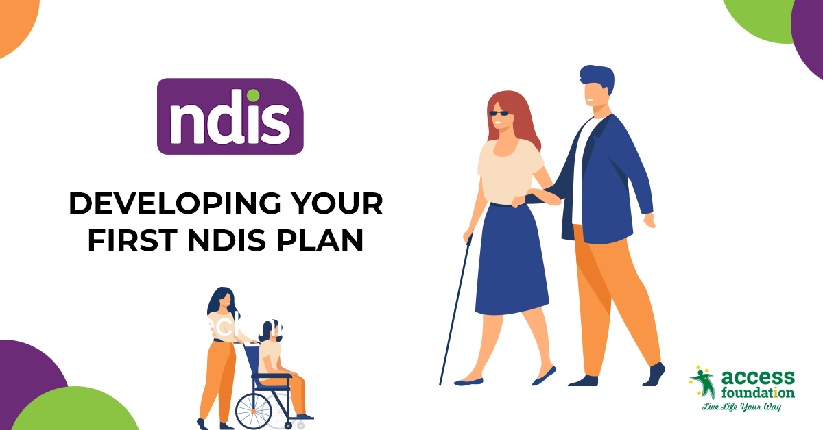 how can you develop your first ndis plan