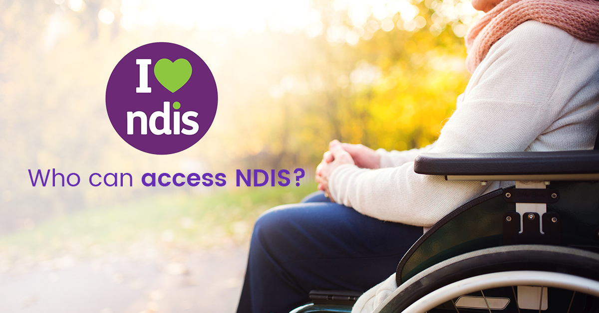 Can Access the NDIS
