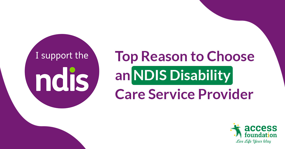 NDIS Disability Care Service Provider